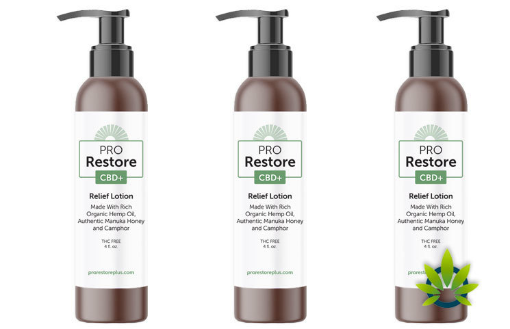 Pro Restore CBD Plus: Fast Acting Pain Relief Hemp Oil Lotion Launches