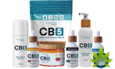 New Boomer Naturals CB5 Botanical Terpene Blends Launch as FDA-Compliant CBD Alternative