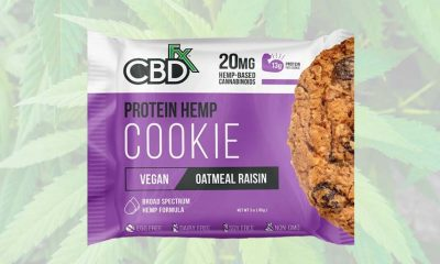 CBDfx to Launch CBD-Infused Protein Hemp Cookie That's Broad Spectrum and Vegan Friendly