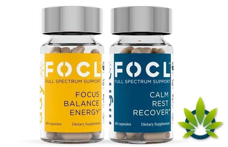 New FOCL Hemp Day and Night Stack with Full Spectrum CBD Drops Launches