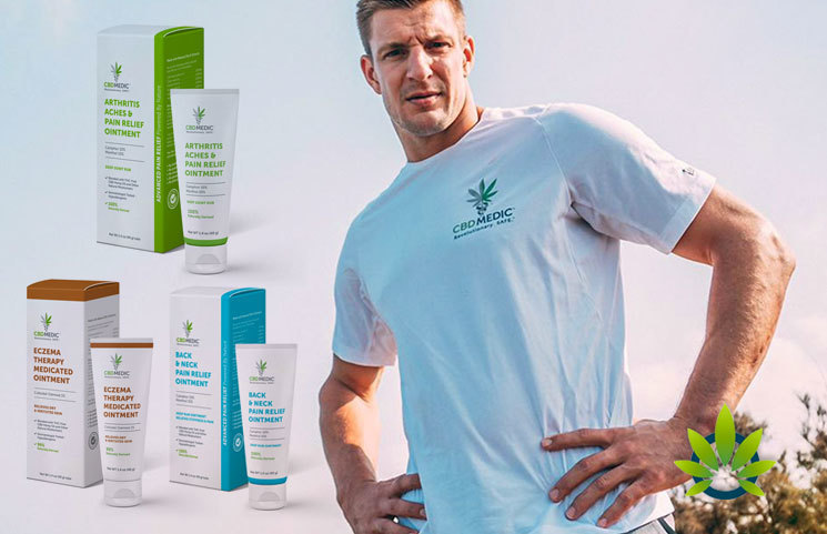 Rob Gronkowski's CBDMedic CBD Oils by Abacus Health Expand to More Bed Bath & Beyond Stores