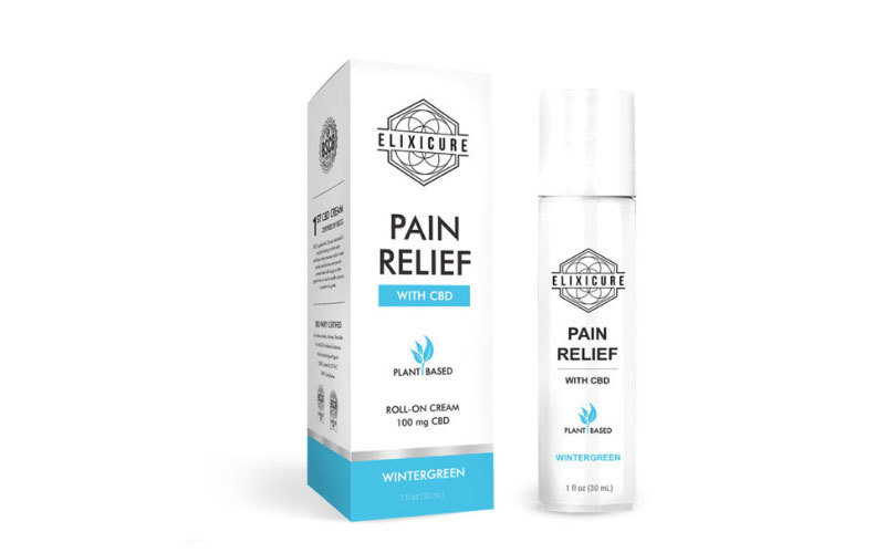 FDA Certifies Elixicure CBD-Infused Topical Cream Remedy for Pain Relief