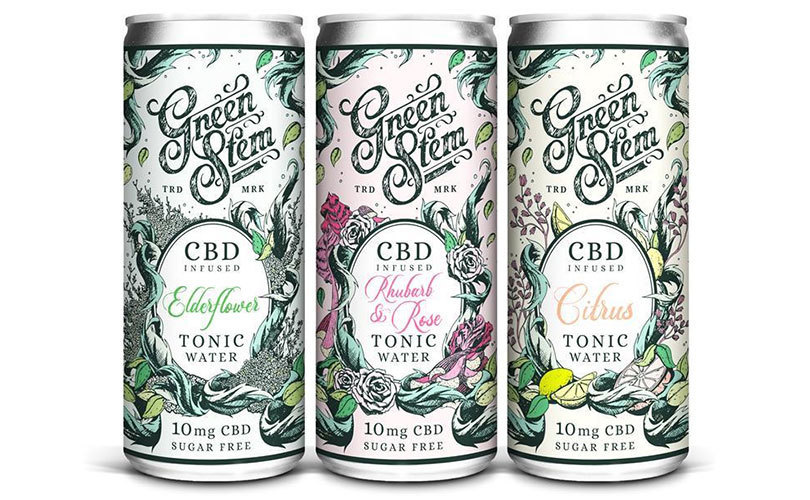 New Green Stem CBD Tonic Waters Launch with Herbal Extracts and No THC