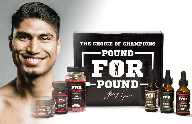 "Boxing Champion Mikey Garcia Announces ""Pound for Pound CBD"" Launch"