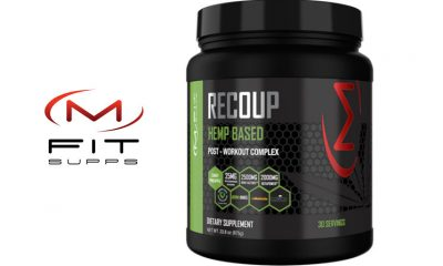 New MFIT SUPPS Recoup Hemp CBD-Infused Post-Workout Complex Launches