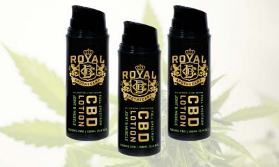 New Royal CBD Apothecary Full Spectrum CBD Joint and Muscle Lotion Launches