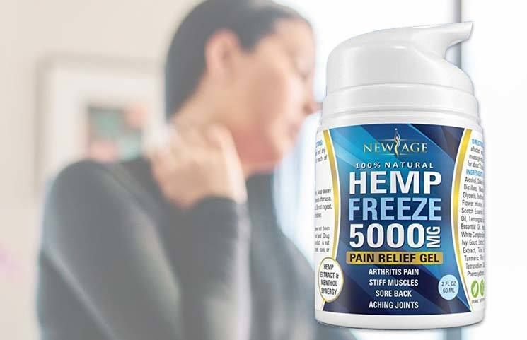 NewAge HempFreeze Pain Relief Gel: Does Hemp with Turmeric and Menthol Work?