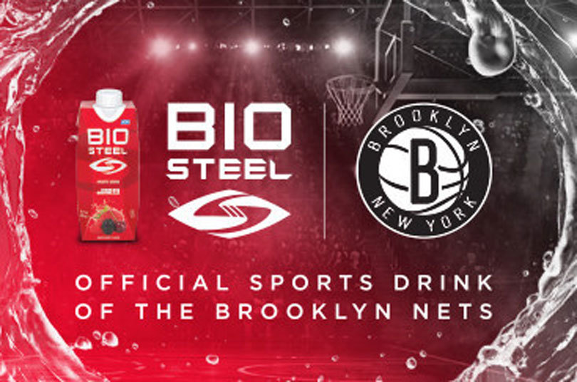 Canopy Growth, BioSteel Debut CBD Product Line and Partner with Brooklyn Nets, Barclays Center