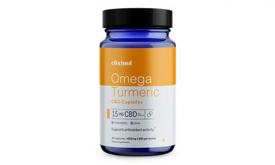 Elixinol Debuts New Omega Turmeric CBD Capsules with Algae-Derived DHA