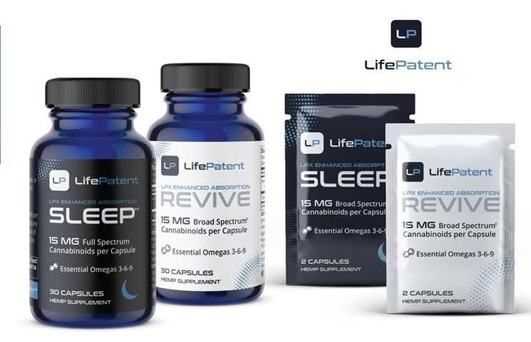 New LifePatent LPX Technology Hemp CBD Product Line to Launch with Enhanced Bioavailability