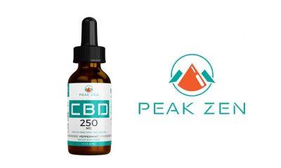 Peak Zen CBD: New Organic Hemp CBD-Infused Tincture Launches