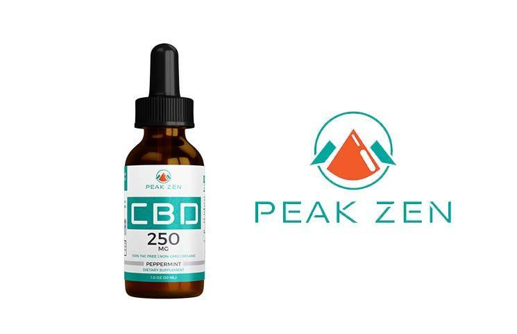 Peak Zen CBD: New Organic Hemp CBD-Infused Tincture Launches