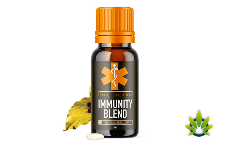Pure Herbal Total Defense Immunity Blend Aims to Enhance Health with Essential Oils