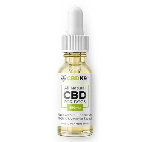 CBDK9: All Natural Full Spectrum CBD Hemp Oil for Dogs