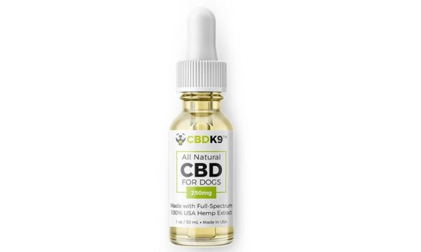 CBDK9: All Natural Full Spectrum CBD Hemp Oil for Dogs