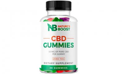 Nature's Boost CBD Gummies: New Edible Cannabidiol Infused Product Launches