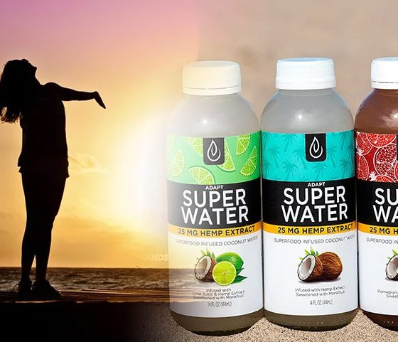 Adapt SuperWater Launches as New CBD-infused Superfood Beverage