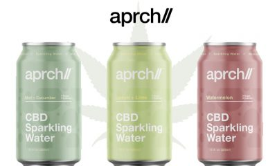 New Aprch CBD Sparkling Waters Line Launches with No Sugar or Calories