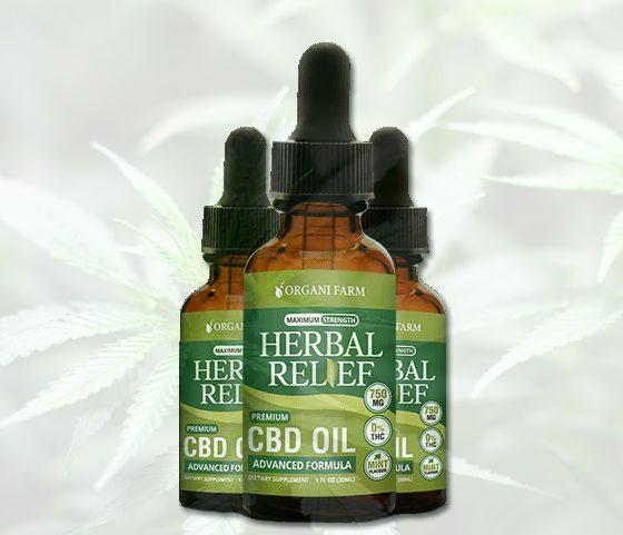 Organi Farm Herbal Relief CBD Oil: Safe Premium Advanced Formula?