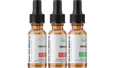 TerraPure Botanicals CBD Oil: Premium Full Spectrum Hemp Tinctures