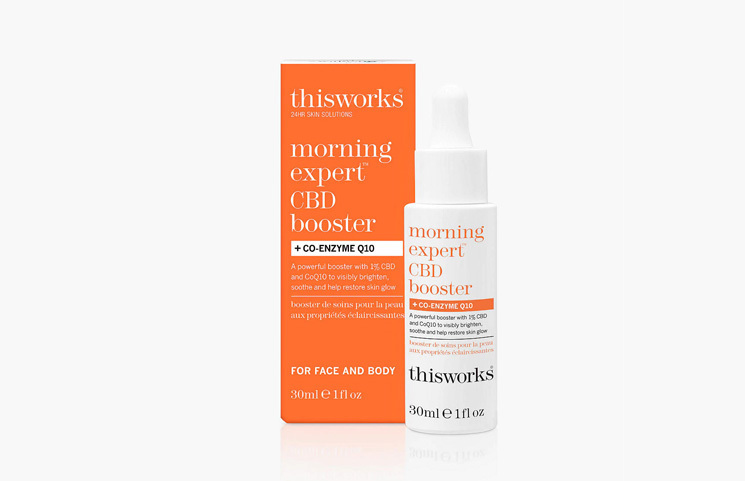 John Lewis This Works' Morning Expert CBD Booster + Co-Enzyme Q10 Launches