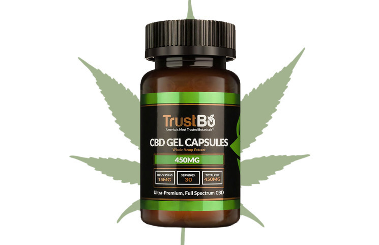TrustBo CBD: Trusted Whole Hemp Cannabidiol Gel Caps for Pain Relief?
