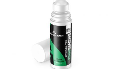 Armourgenix Launches New Recovergenix Gym Gel Roll On CBD Hemp Complex