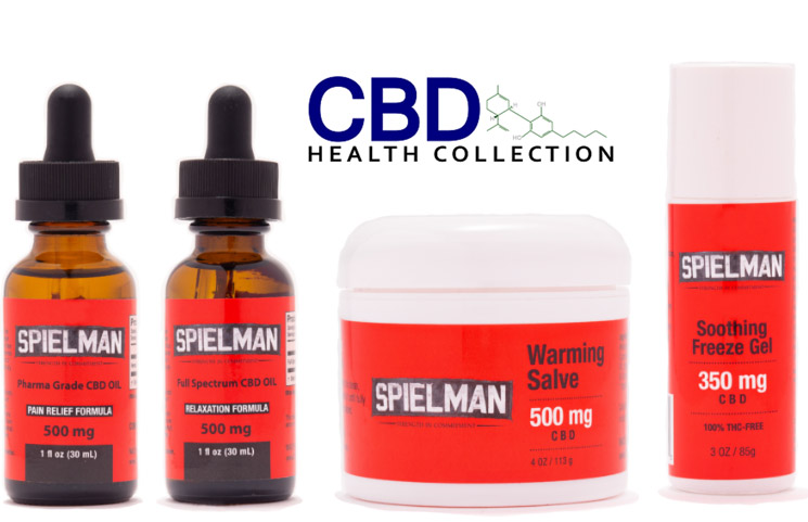 Chris Spielman Finally Releases Delayed CBD Health Collection Product Line