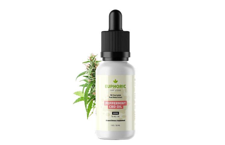 Euphoric CBD: THC-Free Hemp CBD Oil Extract with Peppermint?