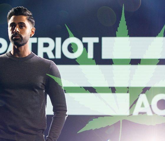 Hasan Minhaj of Patriot Act on Netflix Talks Cannabis Legality and Regulation