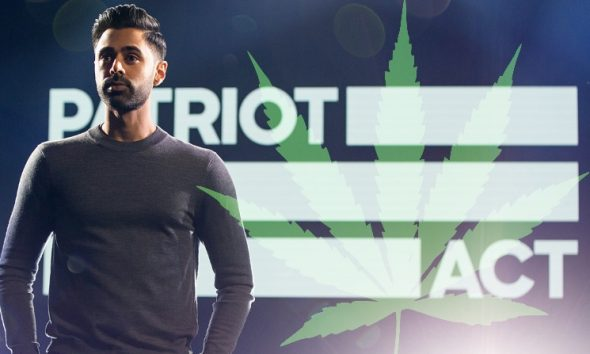 Hasan Minhaj of Patriot Act on Netflix Talks Cannabis Legality and Regulation