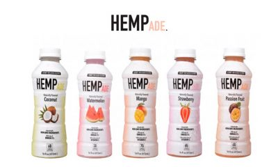 New HempAde Hemp-Infused Fruit Juice Drinks Debut with No CBD or THC