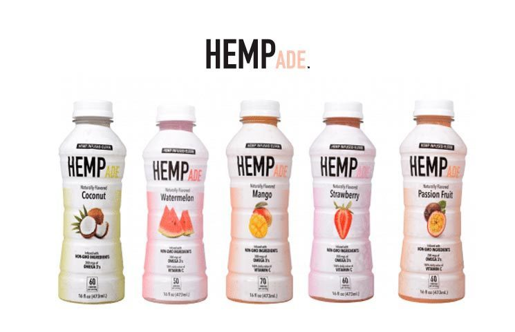 New HempAde Hemp-Infused Fruit Juice Drinks Debut with No CBD or THC