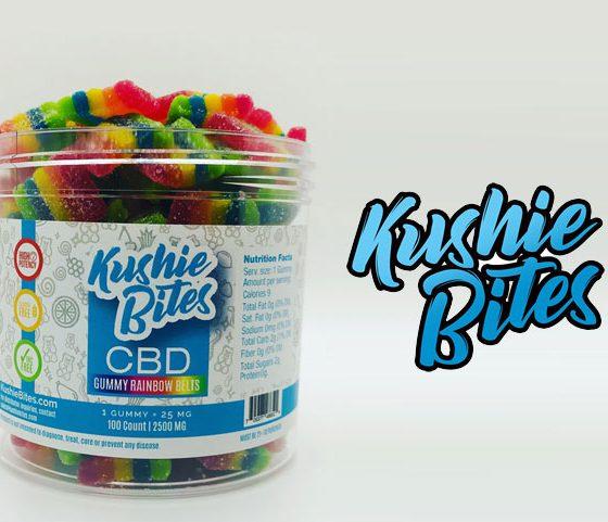 Kushie Bites: Organic Hemp CBD Gummies, Lollipops, Jelly Beans and Gumballs