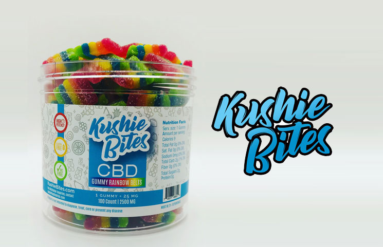 Kushie Bites: Organic Hemp CBD Gummies, Lollipops, Jelly Beans and Gumballs