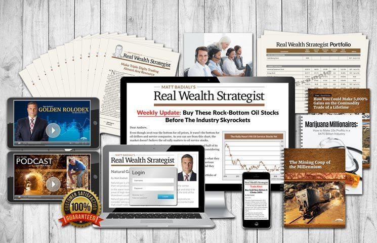 Matt Badiali's Real Wealth Strategist: Are Pot Stocks Entering Acceleration Phase?