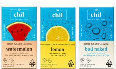 New Chil Mixers Launch to Pioneer Cannabis Powder-Based Infusions