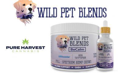 Pure Harvest Introduces Wild Pet Blends for the CBD Pet Market