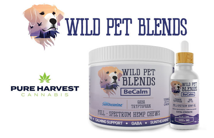 Pure Harvest Introduces Wild Pet Blends for the CBD Pet Market