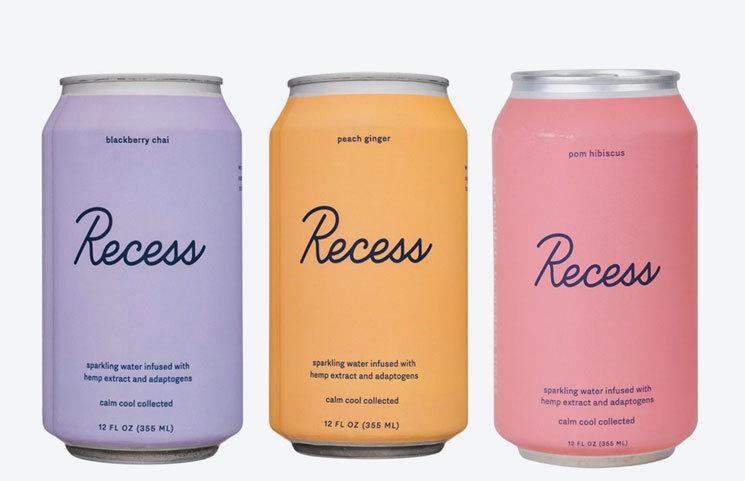 Recess Hemp-Infused Beverage Brand Debuts Online Wholesale Product Platform