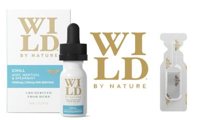 WILD by Nature Launches Clean CBD Oil Tinctures and Portable Single Shots