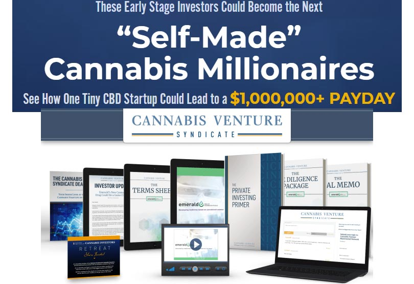 Cannabis Venture Syndicate: Michael A. Robinson's Next $52 Billion Startup Stock