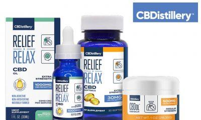 Balanced Health Botanicals (BHB) Upgrades CBDistillery CBD Product Line Branding