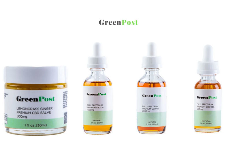 GreenPost CBD: Full Spectrum Organic CBD Oil Hemp Products
