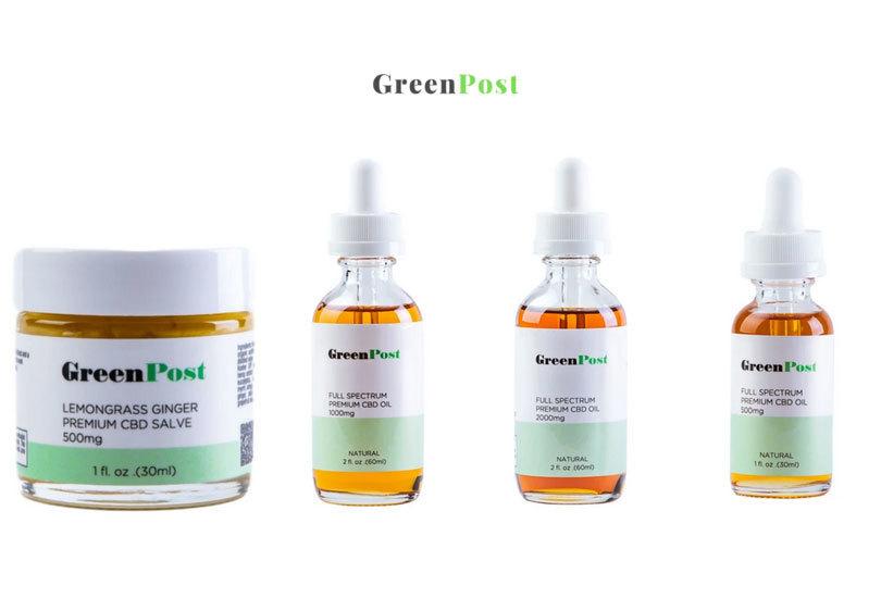 GreenPost CBD: Full Spectrum Organic CBD Oil Hemp Products
