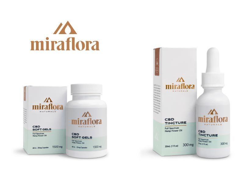 Miraflora Naturals Releases New Organic Full Spectrum CBD Product Line