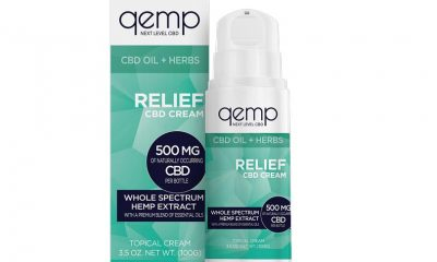 Qemp, Nature's Sunshine Launch New Topical Hemp CBD Relief Cream