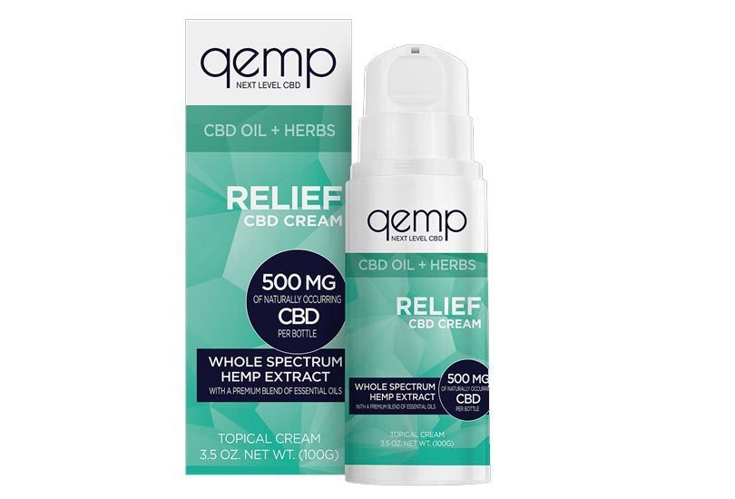 Qemp, Nature's Sunshine Launch New Topical Hemp CBD Relief Cream