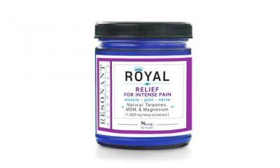 New Resonant Botanicals' ROYAL CBD Pain Relief Cream Formula Launches
