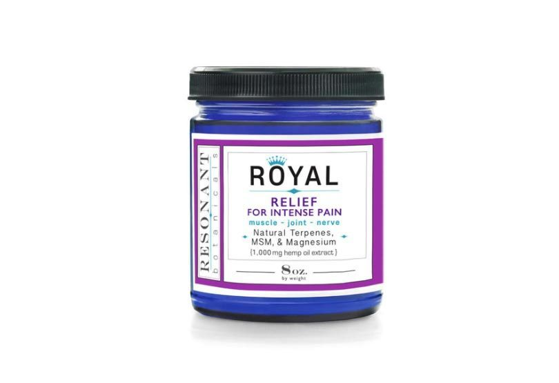 New Resonant Botanicals' ROYAL CBD Pain Relief Cream Formula Launches